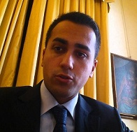 Il vice presidente della camera luigi di maio a l 39 arena di for Presidente movimento 5 stelle